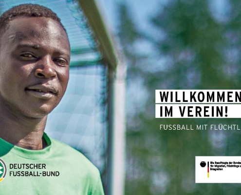"""Titel der Broschüre """"Willkommen im Verein"""""""