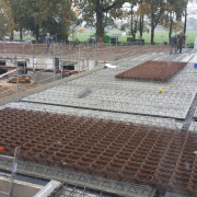 Baustelle für den zweiten Block (© WOLV)