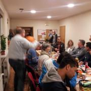Single-Weihnachtsfeier am 28. Dezember 2015 in der Evangelischen Kiche Leegebruch