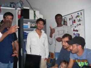 Endlich Freies WLAN an der Flüchtlingsunterkunft
