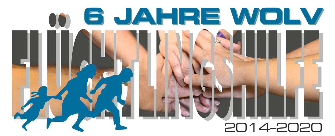 Symbolbild: 6 Jahre WOLV, 2014-2020, Flüchtlingshilfe